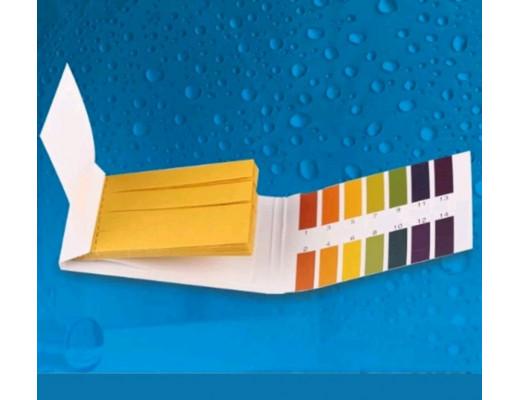 Индикаторная бумага pH тест полоски 80 ШТУК (pH от 1 до 14)