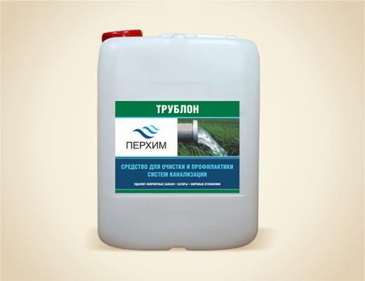 Трублон - cредство для прочистки канализации (10 л)